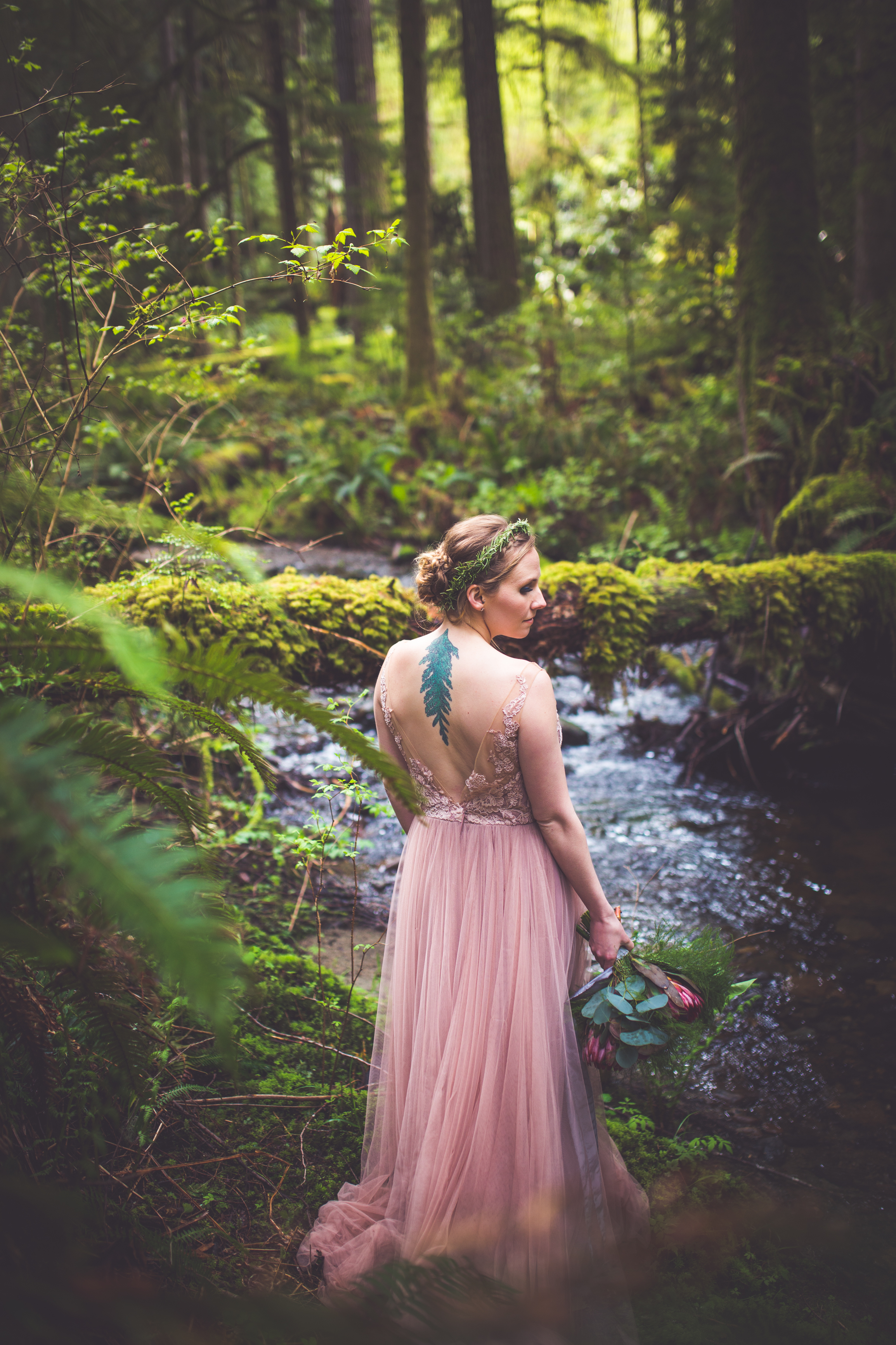 Wedding dress from Blush Bridal Victoria BC