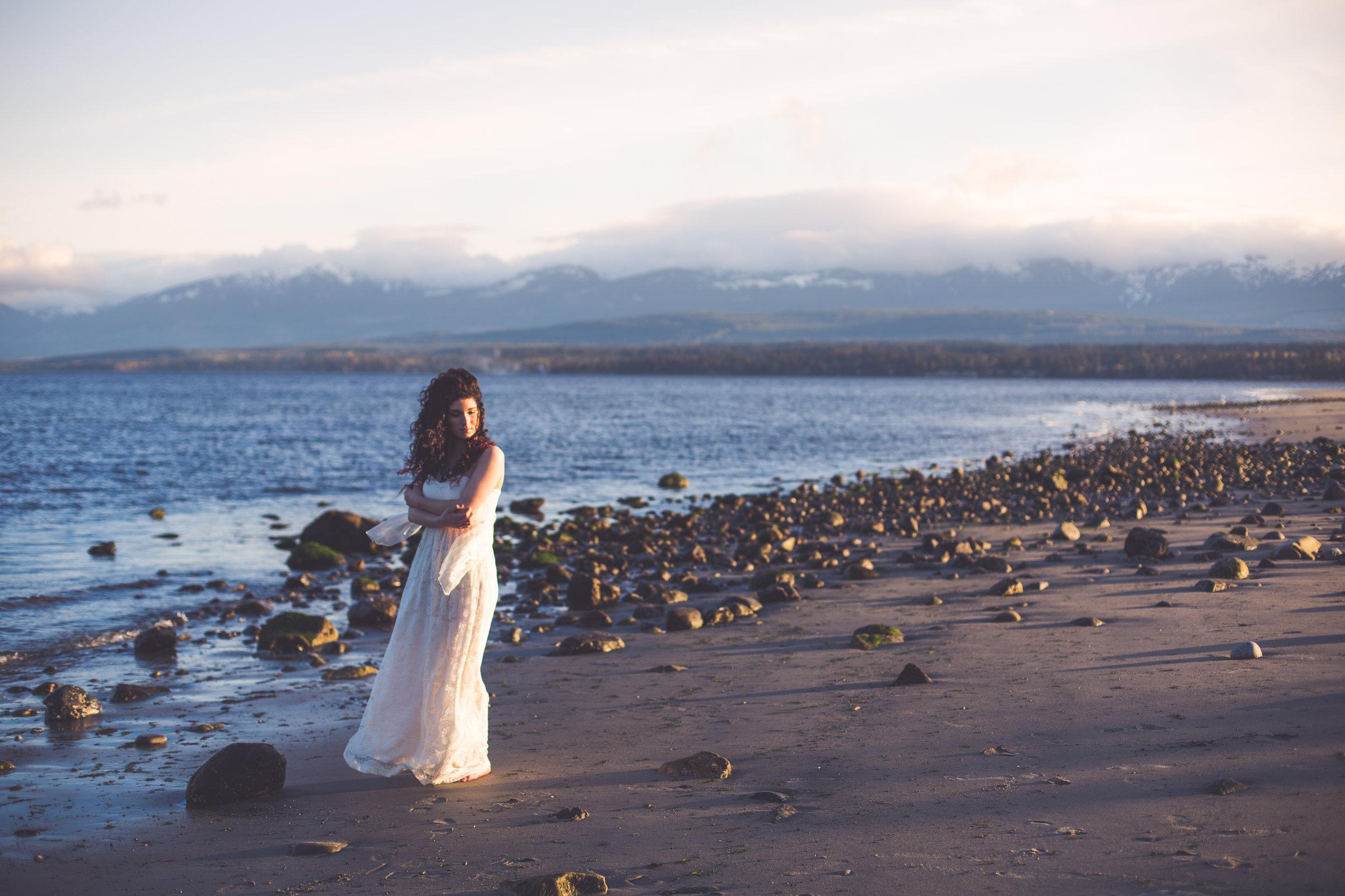bridal session vancouver island