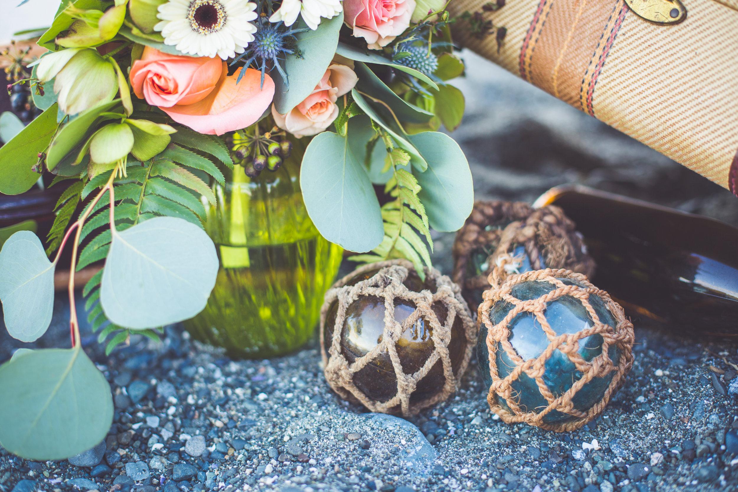 nautical theme wedding comox bc