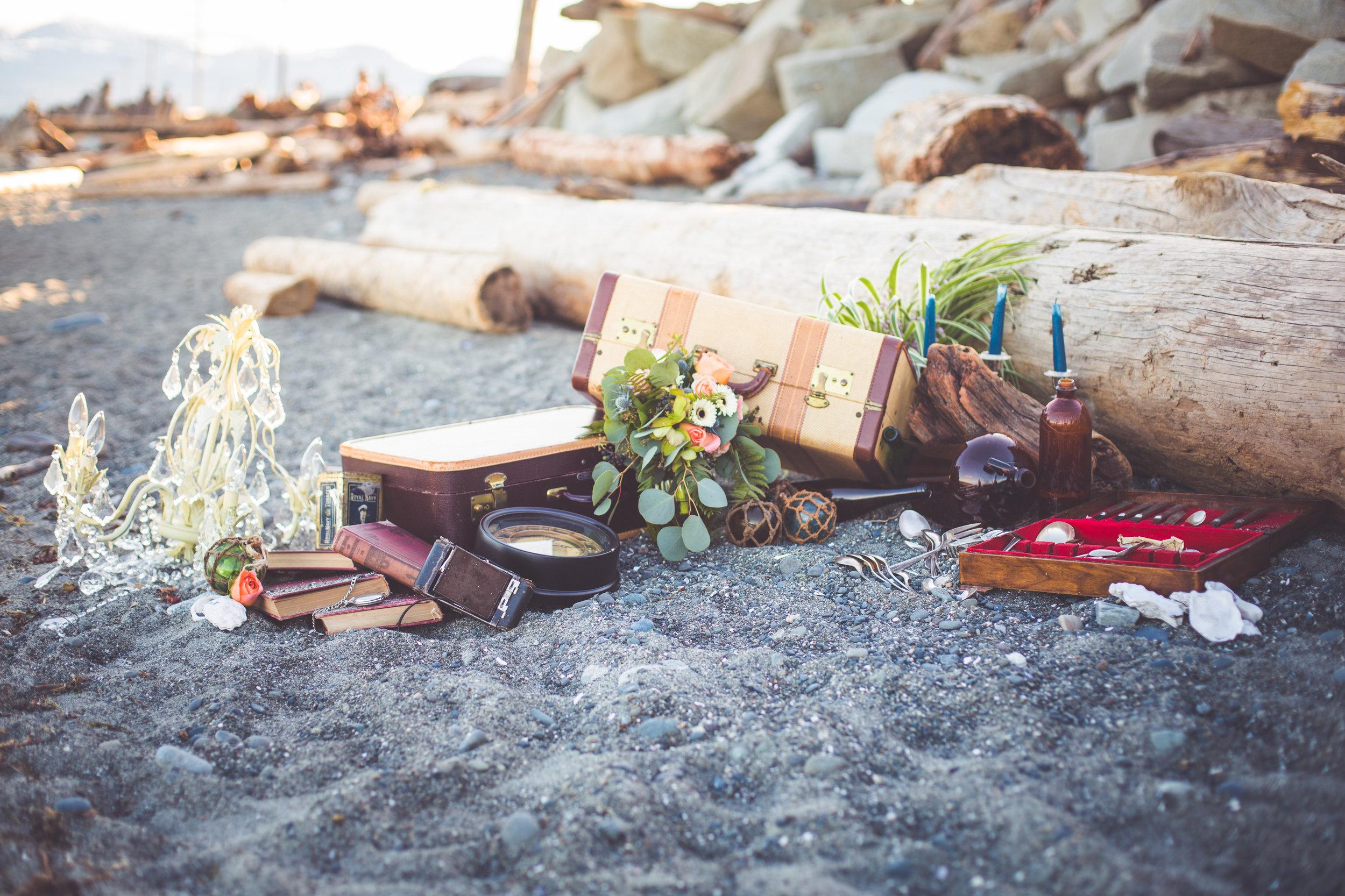 shipwrecked wedding theme