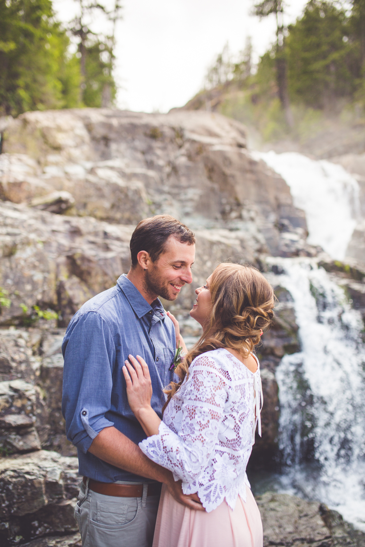 myra falls strathcona park elopement