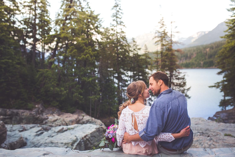 buttle lake strathcona park wedding photos