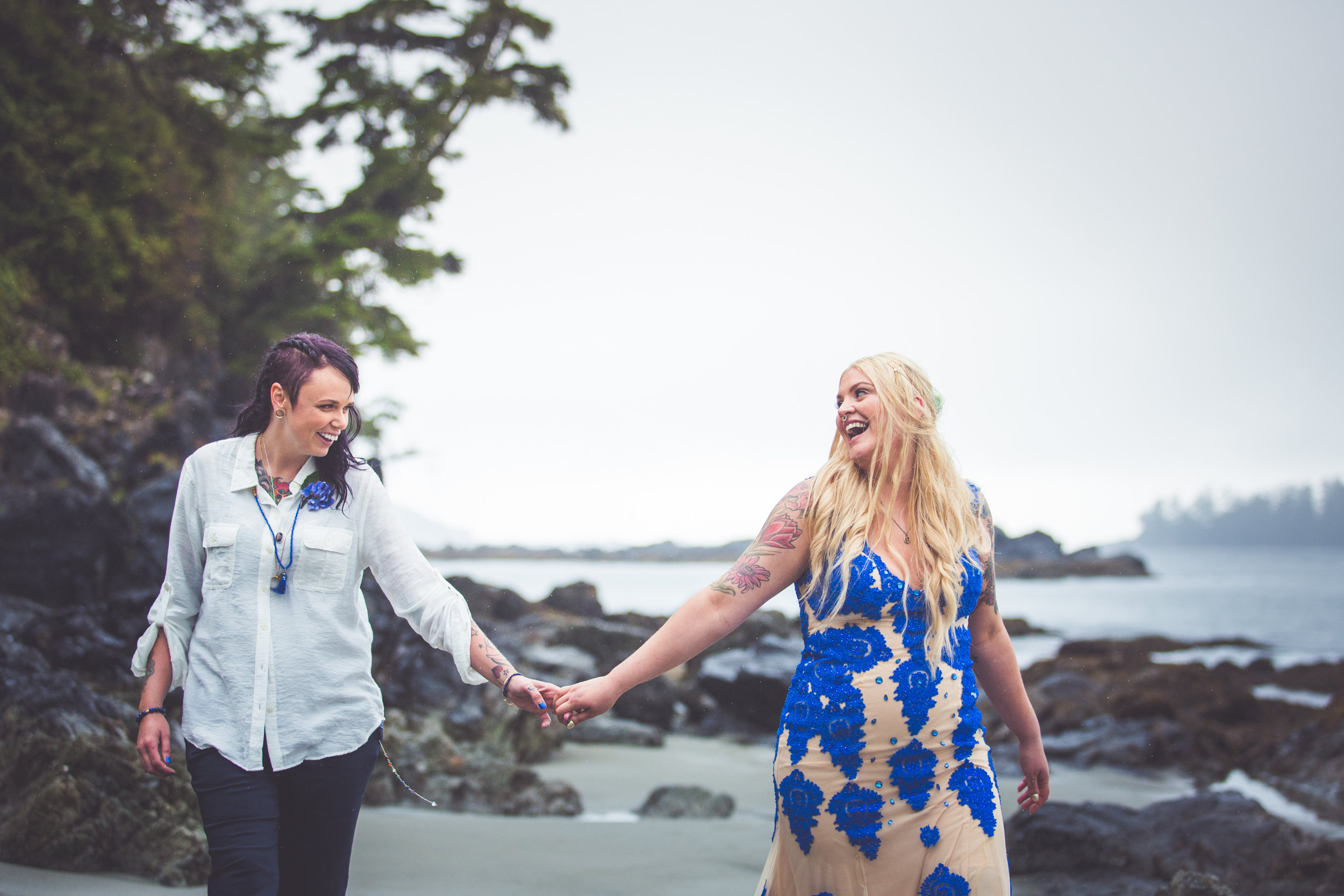 Middle Beach Lodge Elopement Photographer