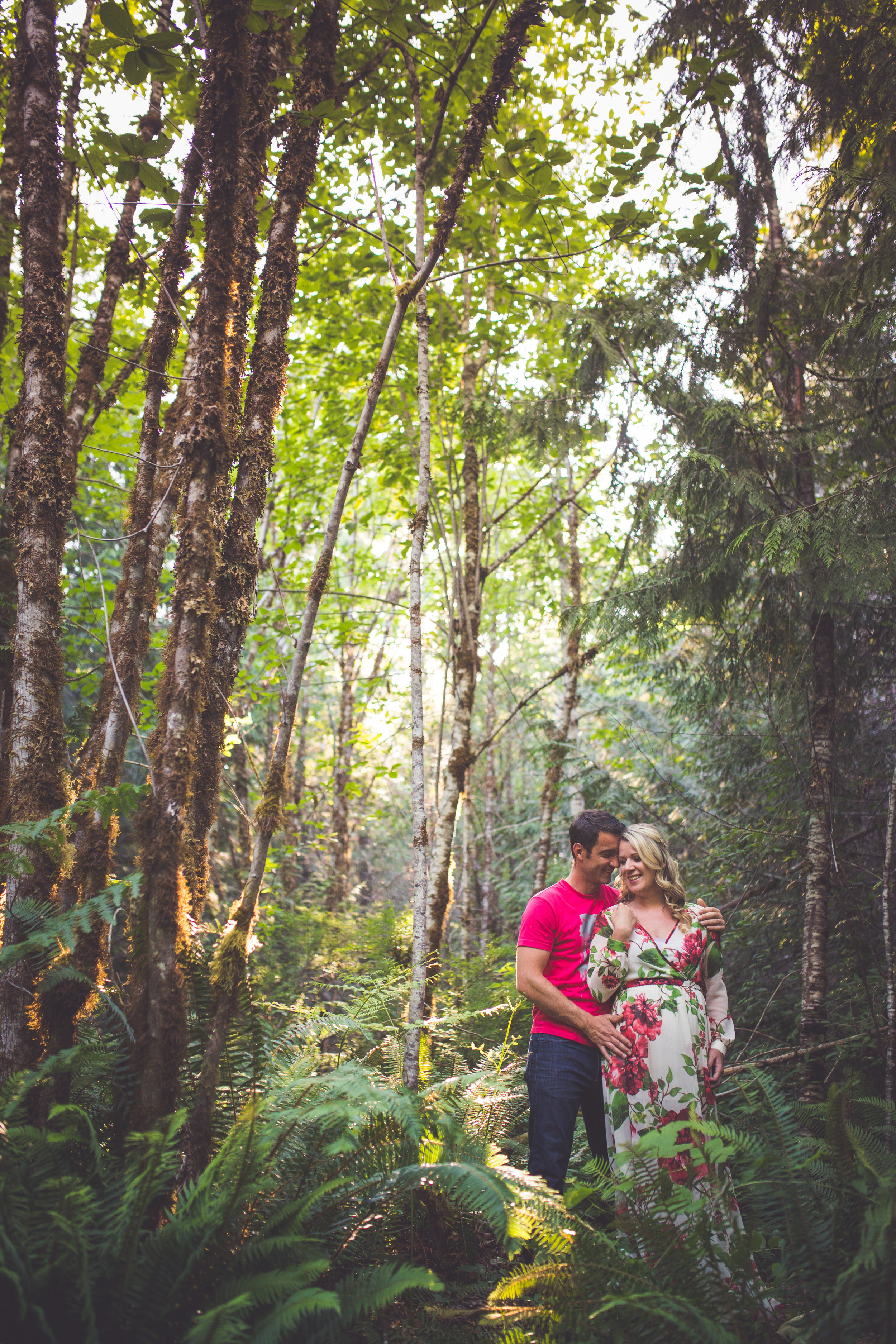 Vancouver Island engagement photographer