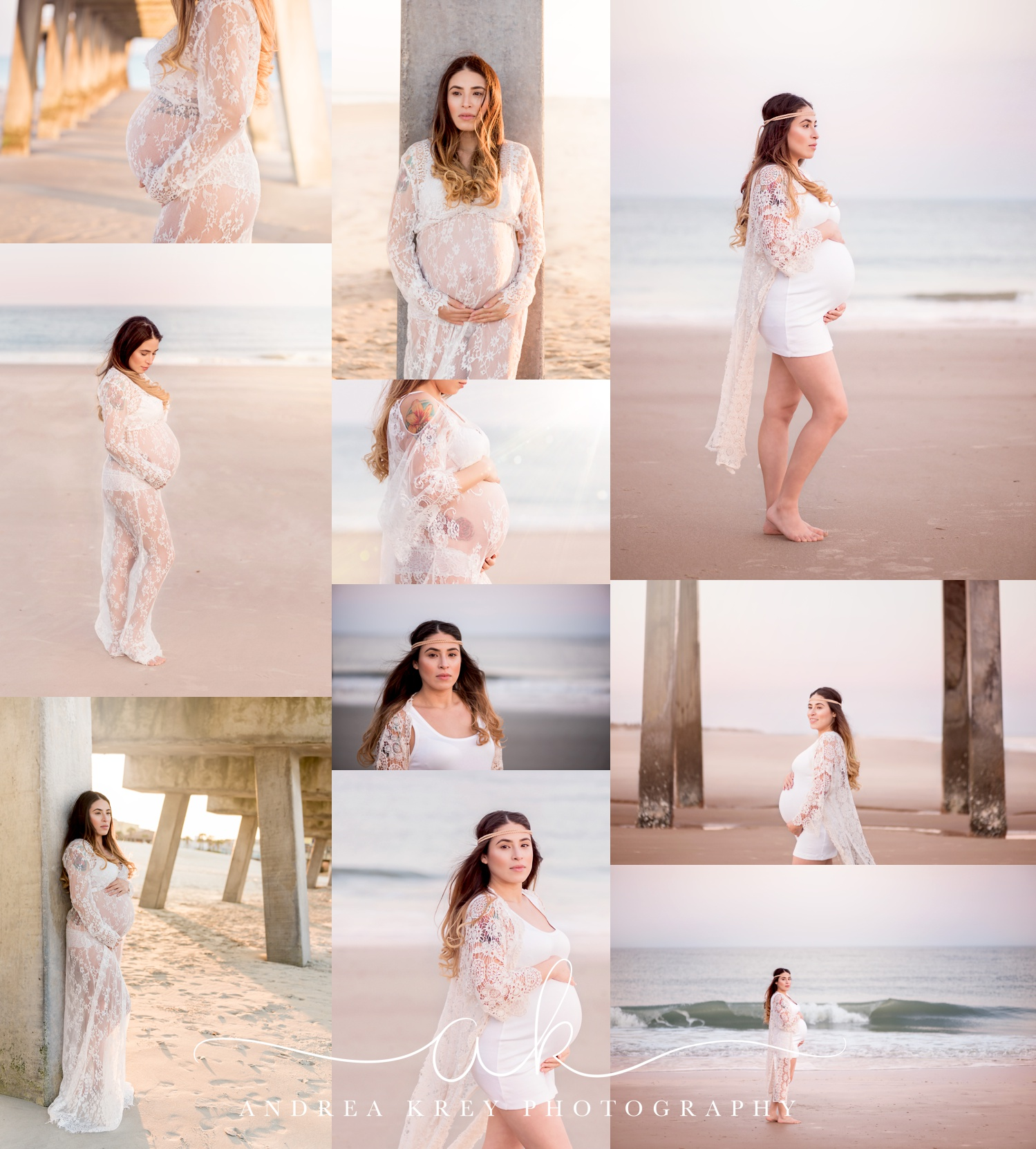 Maternity Tybee Beach Savannah Photography