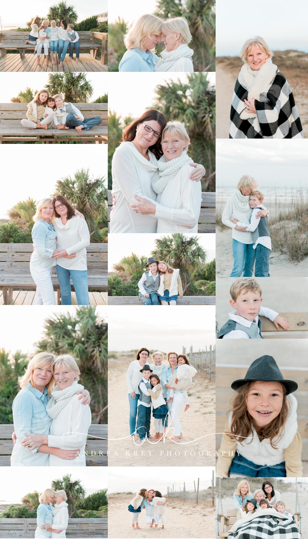 Family Tybee Beach Photography Savannah