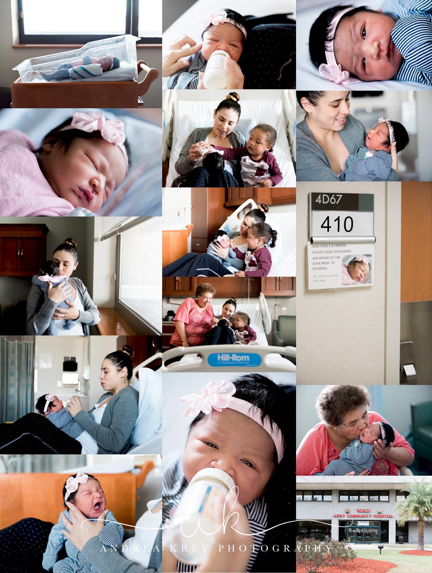 Fresh48 newborn session Wynn Army Hospital Hinesville