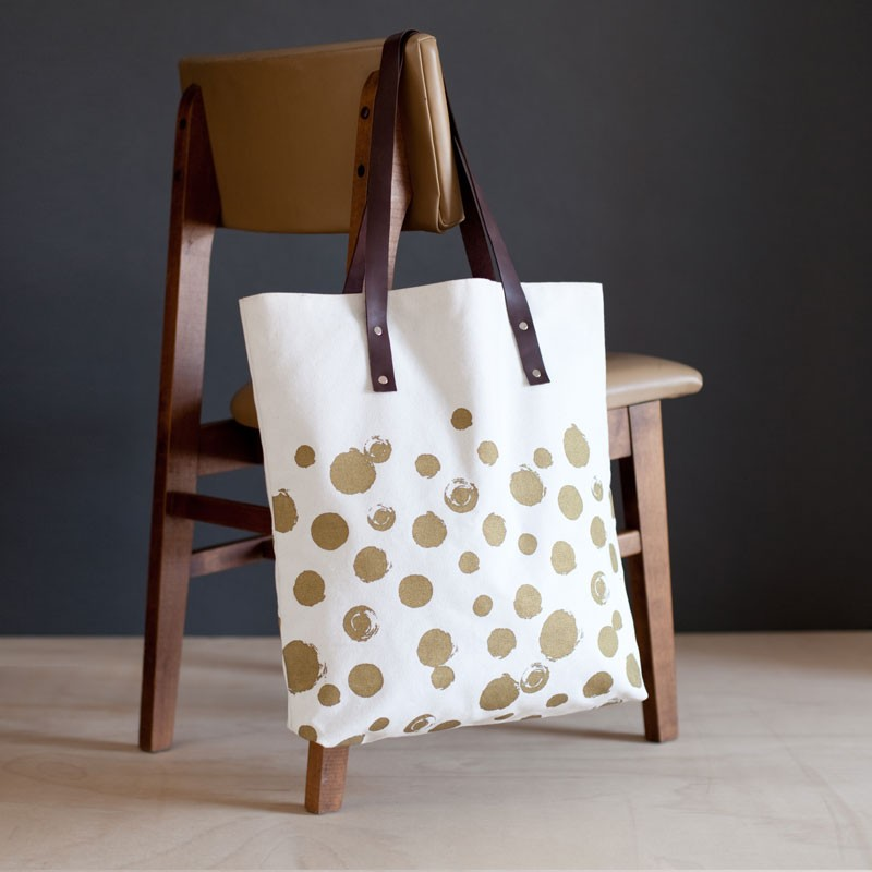 OVERSIZED CANVAS TOTE | $68 - ... Because we can all use a good oversized tote to take our zero waste essentials on-the-go. This canvas tote includes simple gold screen-printed detailing, two large internal pockets, and a small zippered pocket to keep those bamboo utensils and stainless steel straws organized.HOW YOU GIVE BACK | Your purchase supports the Association of Craft Producers (ACP), which employs more than 1,200 primarily female artisans with fair wages. Situated at the foot of the Himalayas, ACP also recognizes the exquisite beauty of their country and takes careful and deliberate steps to preserve the environment.