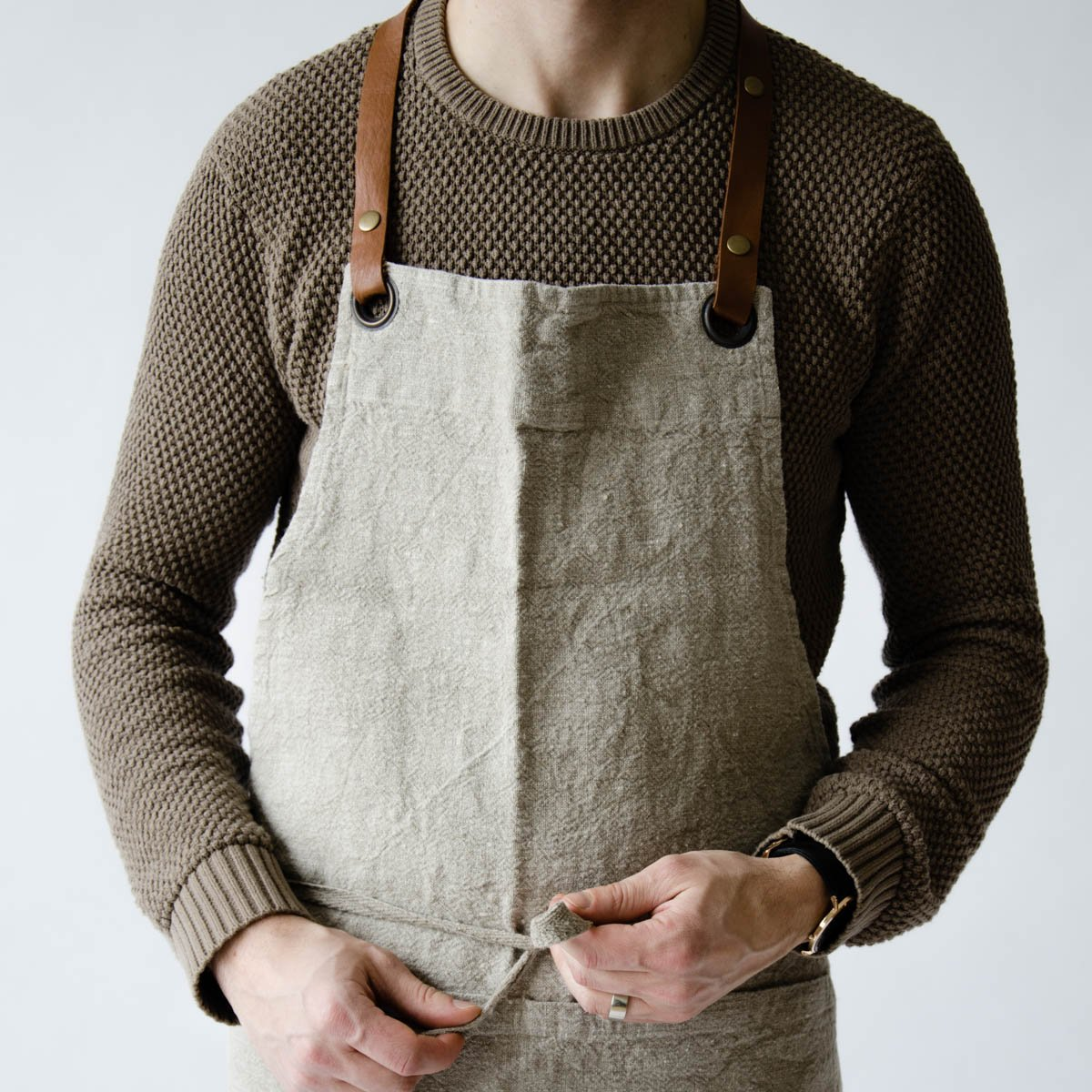 Linen Apron | $65 - JUNE Home Supply