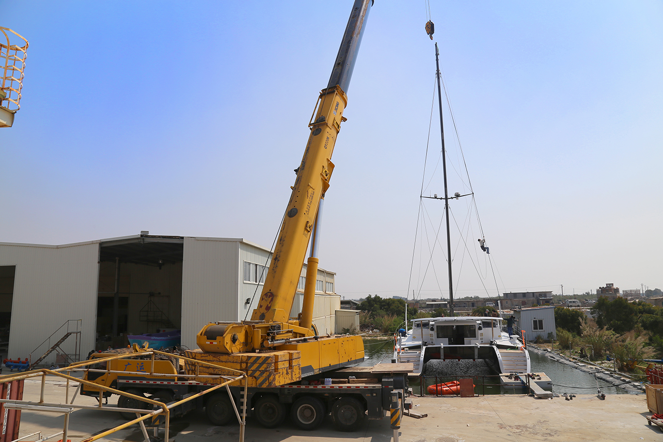 HH6601 Destepping the Mast