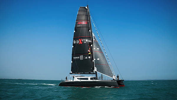 "HH Catamarans launches HH6601, 'R-SIX', the first in its new line of semi-custom, luxury, carbon fiber cruising catamarans.  Xiamen, China, April 19, 2016  HH6601 'R-SIX' began sea trials today in Xiamen, China. The impressive 66' carbon machine is the first in a new line of luxury, performance, carbon cruising cats. Built by Hudson Yacht & Marine, 'R-SIX' is the result of three years of rigorous efforts in design, engineering and industry leading construction methods. HH Catamarans Designer Gino Morrelli was onboard for today's trials, along with company President Paul Hakes. As a team of world leading sailors, craftsmen and system engineers began to put the boat through her paces, a collective anticipation and excitement electrified the scene.  ""I'm excited,"" Gino said before leaving the dock, ""there's always mixed feelings of suspense and excitement the first day out on a new design, it's mostly excitement though.""  Weeks of rain, heavy fog, and grey skies cleared for the day's events, making way for brilliant blue skies and steady 10-15kt winds. With the weather setting the tone, R-SIX followed suit, demonstrating incredible power and grace on her first outing. Though the day's primary goal was systematic testing, the boat show'd immense potential, hitting speeds in the mid-teens with ease.  HH Project Manager William Jelbert summed it up well, ""We had an incredible day. I think this is the first sea trial of a new series I've been on where nothing broke. The boat feels fantastic, we're all thrilled with the result.""  Perhaps the most apt description of the day came from Italian/Australian/South African boat building veteran Riccardo Marton, ""We're off to a perfect start, a dream boat, fantastic people, a lekker day. This is what makes it all worth it.""  Sea trials will continue throughout the next several weeks, and R-SIX will be bound for the Med in May. HH6601 will make her official debut in September at the Cannes Yachting Festival.  Follow us on Facebook for real time updates and visit the HH website for more detailed information.  HH Catamarans builds state-of-the-art, carbon fiber, high-performance cruising catamarans for a discerning clientele seeking a luxury yacht and an exceptional owner experience. HH Catamarans are designed in California and built in Xiamen, China to exact specifications using the most advanced technology in the industry. The semi-custom line of 55-115 foot models is the latest evolution of the performance cruising catamaran concept and the culmination of the skills, dedication, passion and expertise of the multi-faceted team behind the brand. A collaboration of America's Cup-winning design team Morrelli and Melvin, master boatbuilders Hakes Marine, and manufacturing powerhouse Hudson Yacht & Marine. HH catamarans builds innovative luxury yachts with unmatched performance and pedigree."