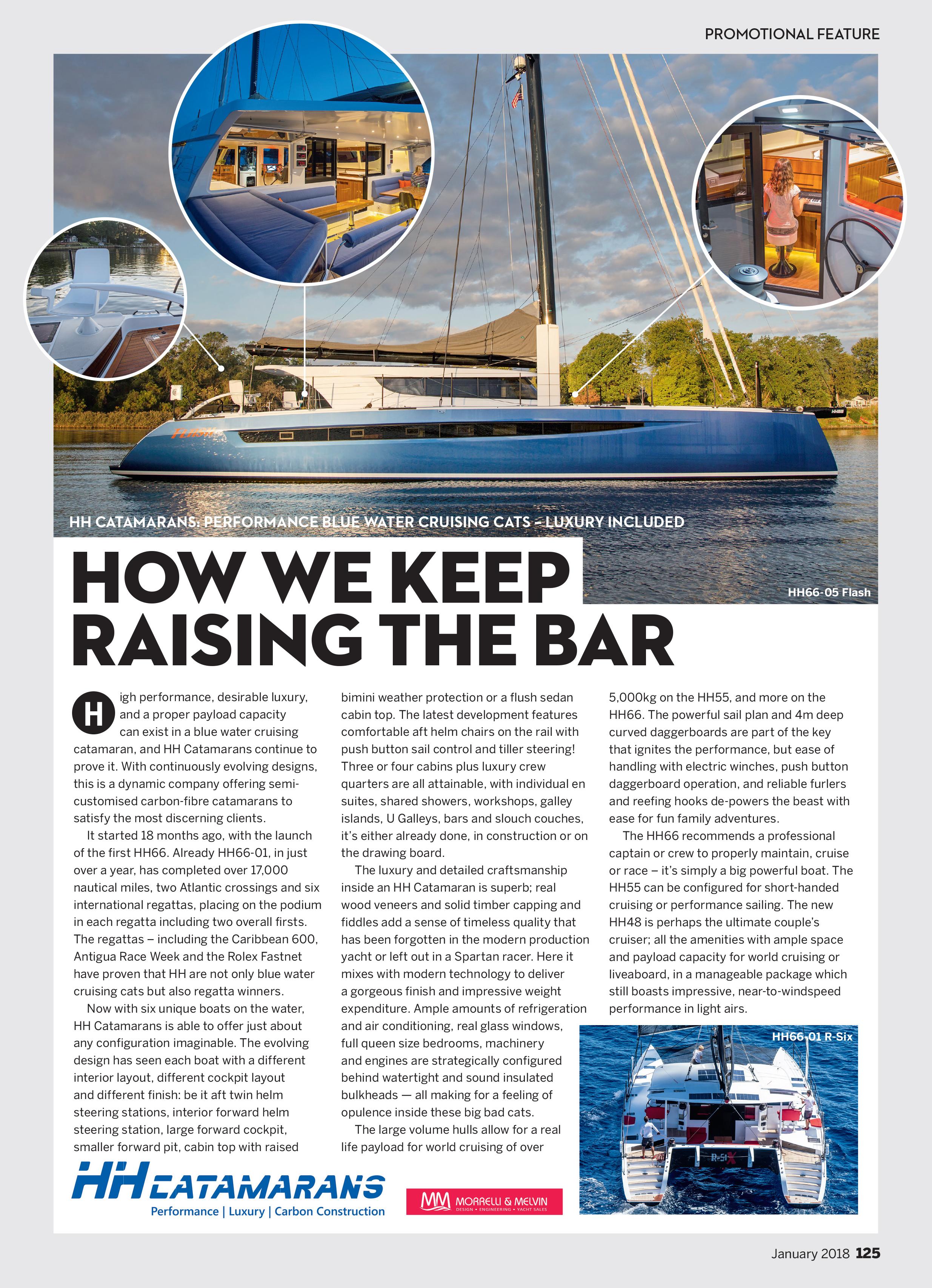 Yachting World HH Catamarans 2018
