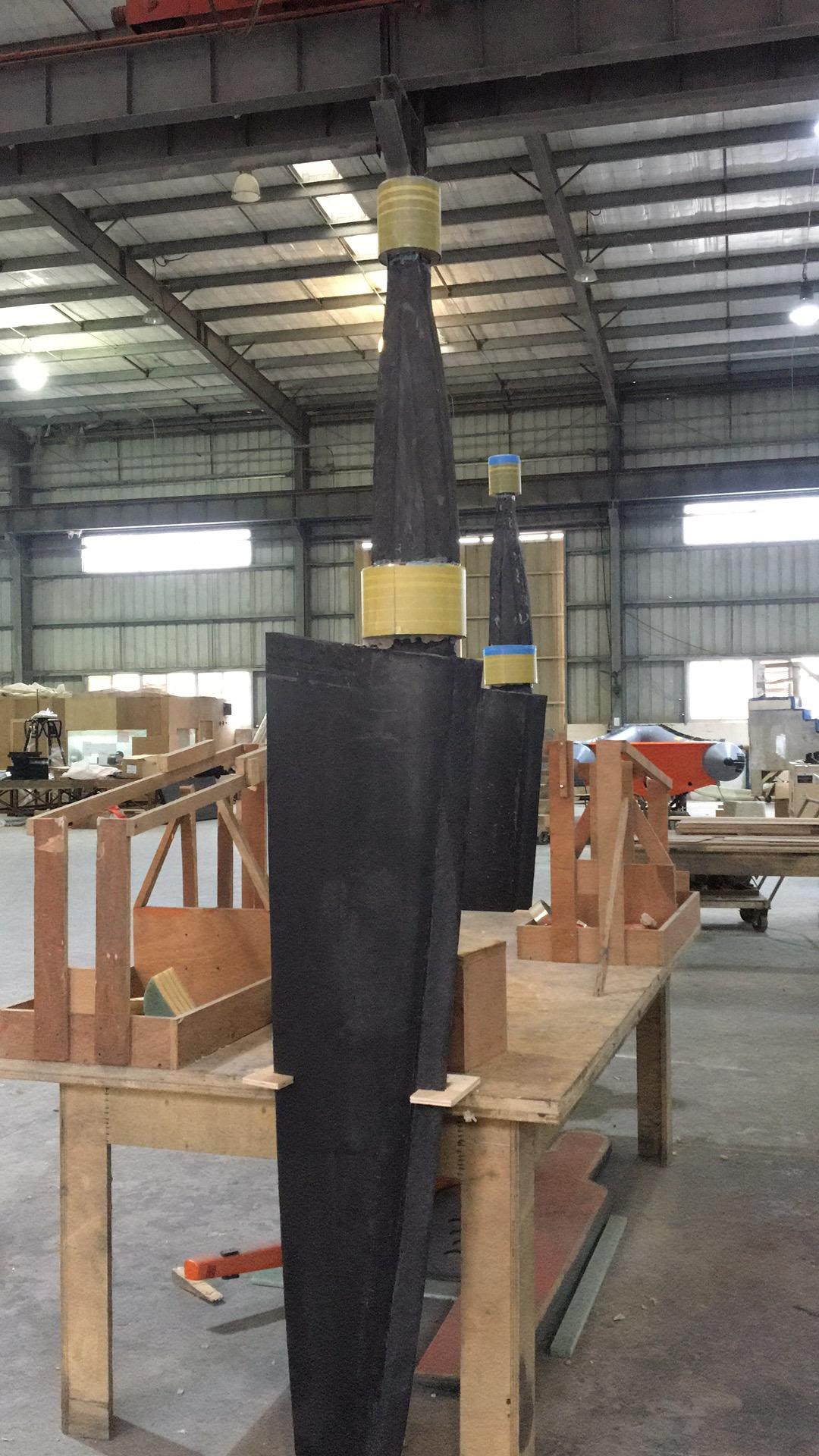 5504 Rudder bearing installation in process.jpg