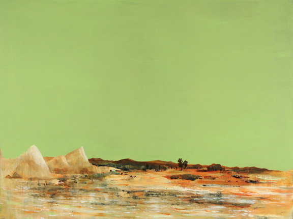 Painting by Azhad Bogosian