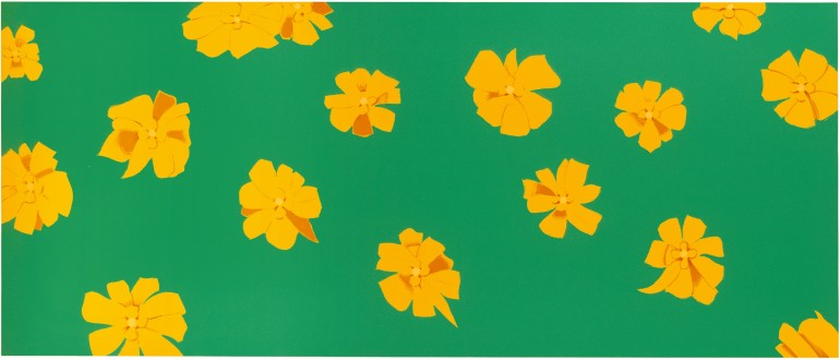 Alex Katz | Marigolds, 2004