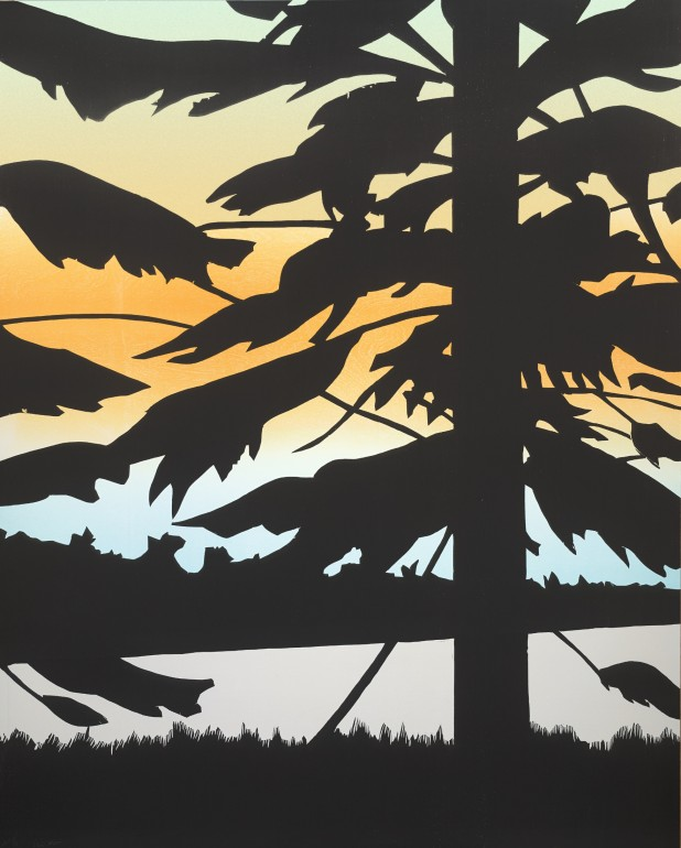 Alex Katz | Twilight 3, 2009