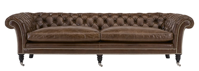 A. Designer Sofa  -  Brook Street Tufted Sofa   Manufacture: Ralph Lauren Home  |  Retail Representative:  KDR Designer Showrooms