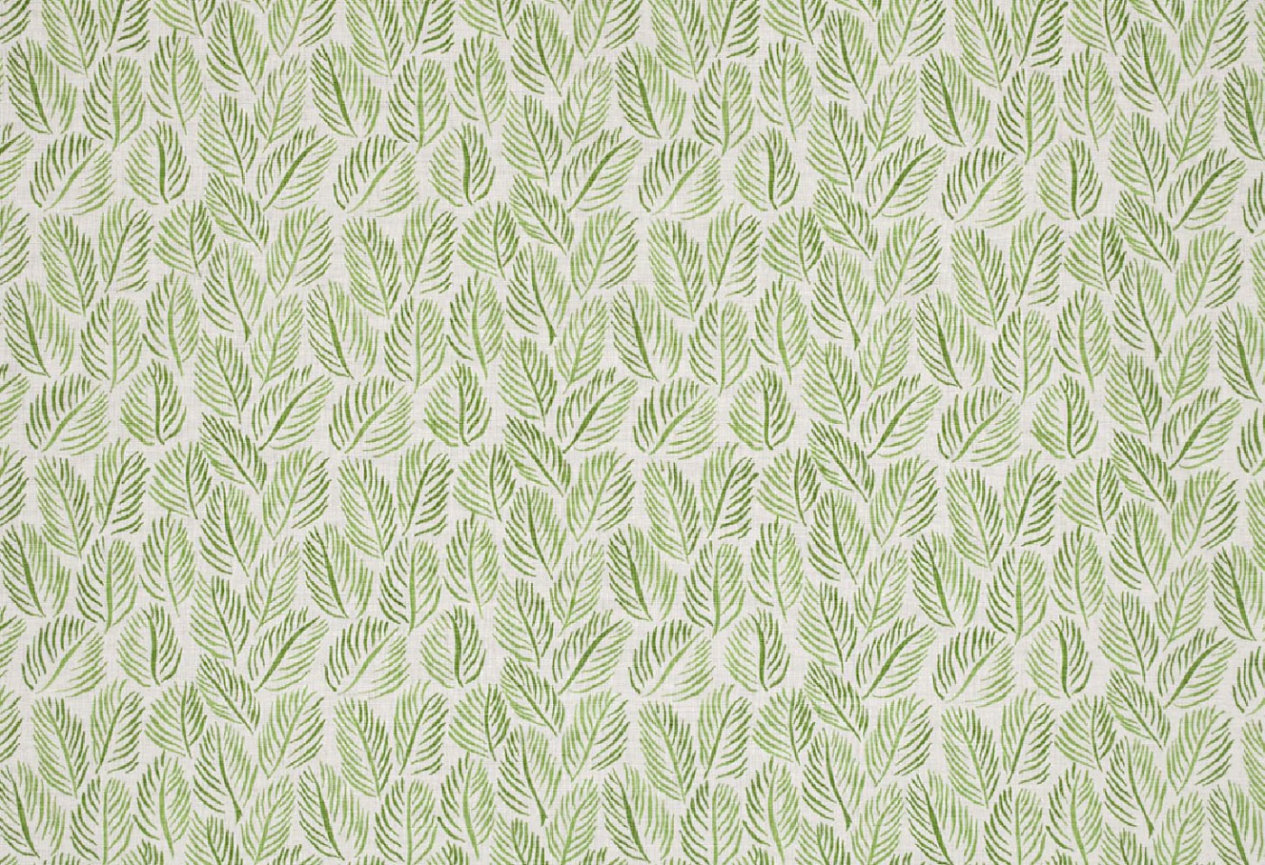 """Christopher Farr's """"Cloth"""" Textiles, Armature Feuilles - Raoul Dufy, Green (Can purchase through C&M Interiors)"""