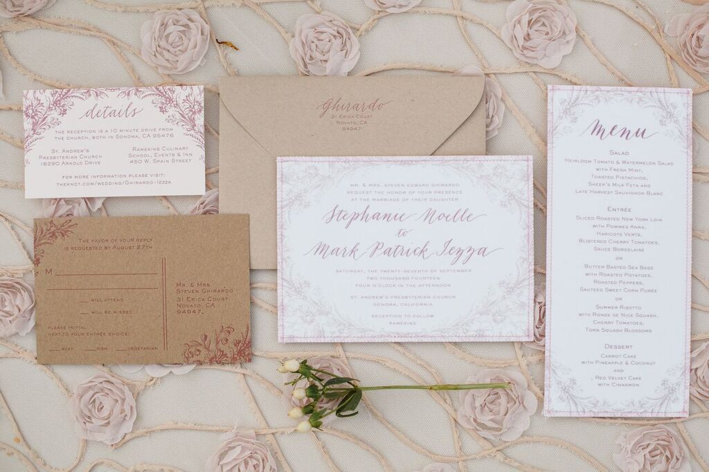 Italian Inspired Pink & Ivory Sonoma Wedding [A Savvy Event | Allyson Wiley Photography]