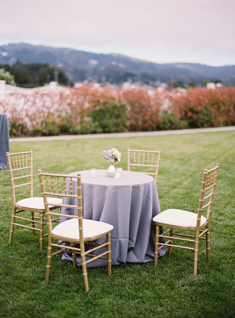 A black tie wedding at the Oceano Hotel in Half Moon Bay by A Savvy Event  [Photography | Jessica Burke]