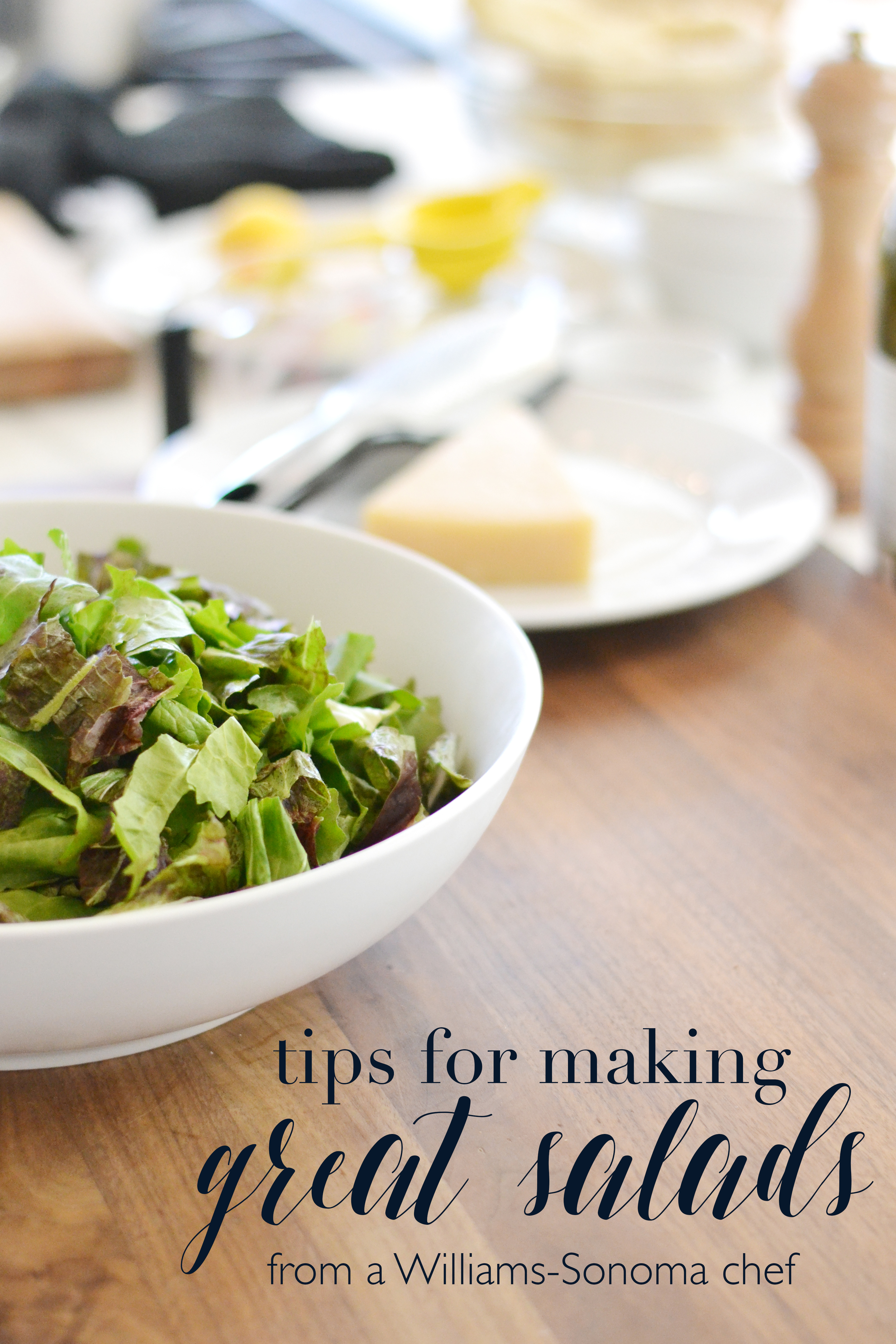 Some awesome tips for upgrading salads! from asavvylifestyle.com