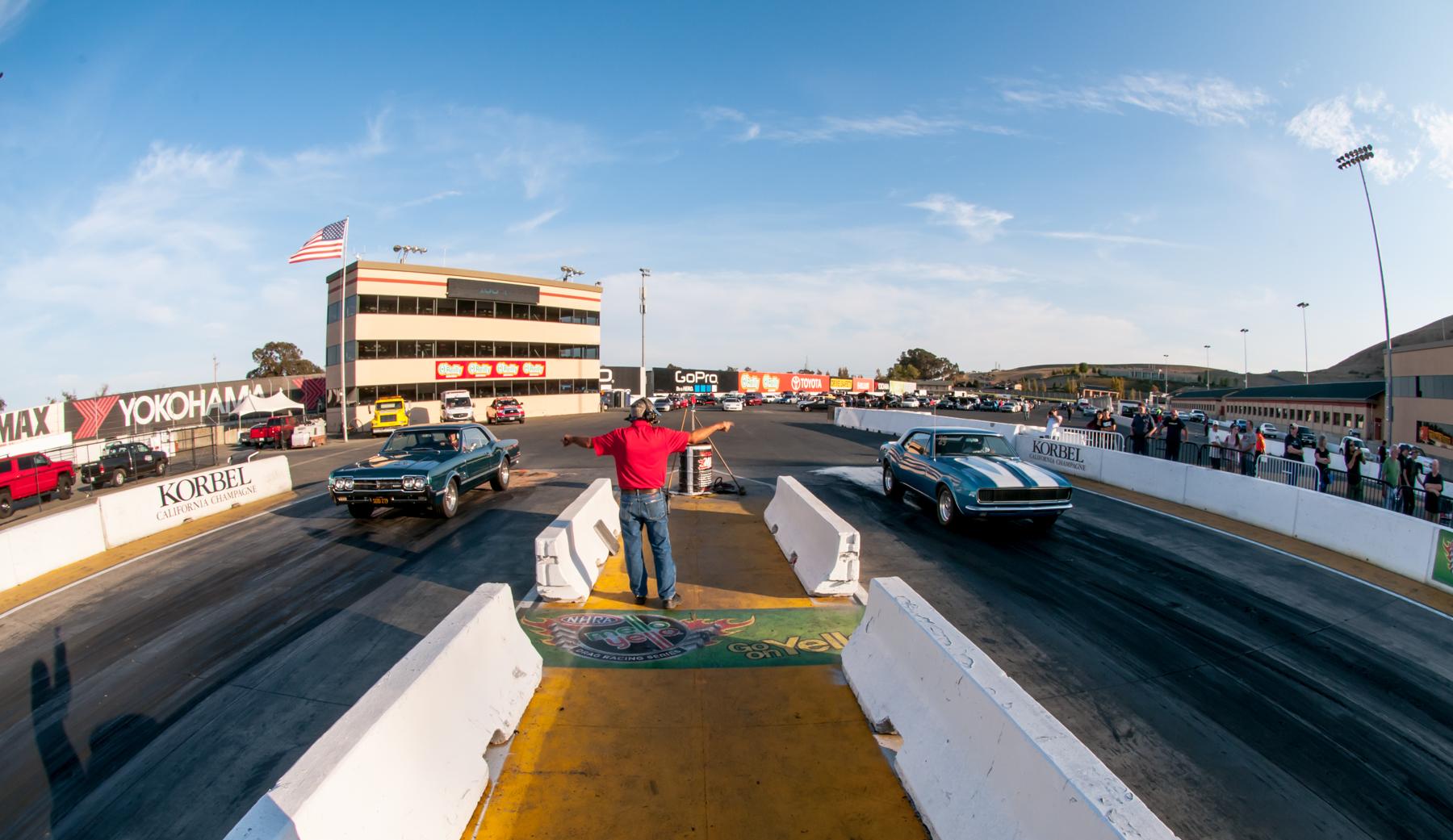 sonoma raceway drags