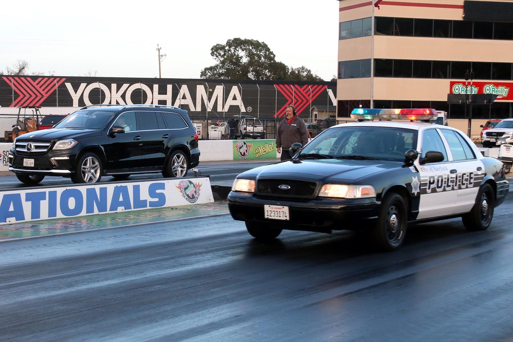 Sonoma Raceway top the cops