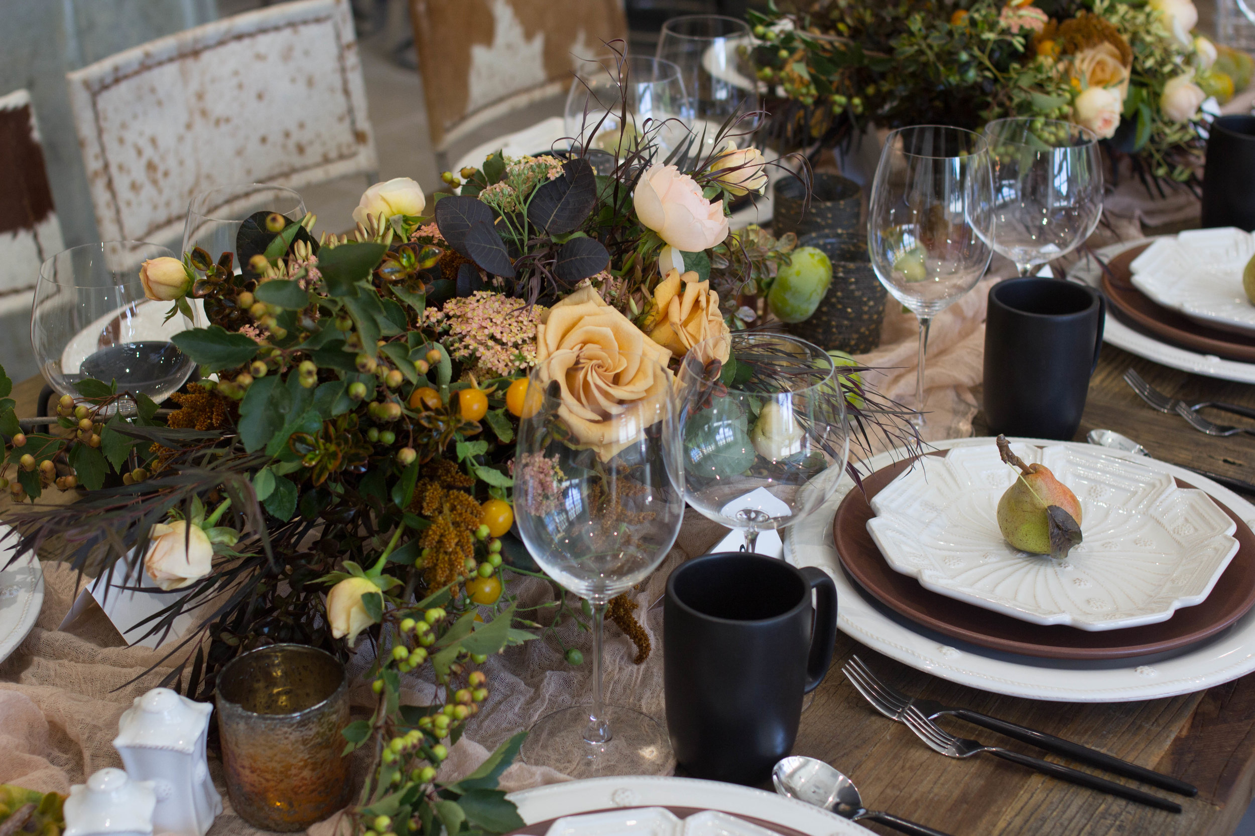 fall inspired table top theoni collection mug