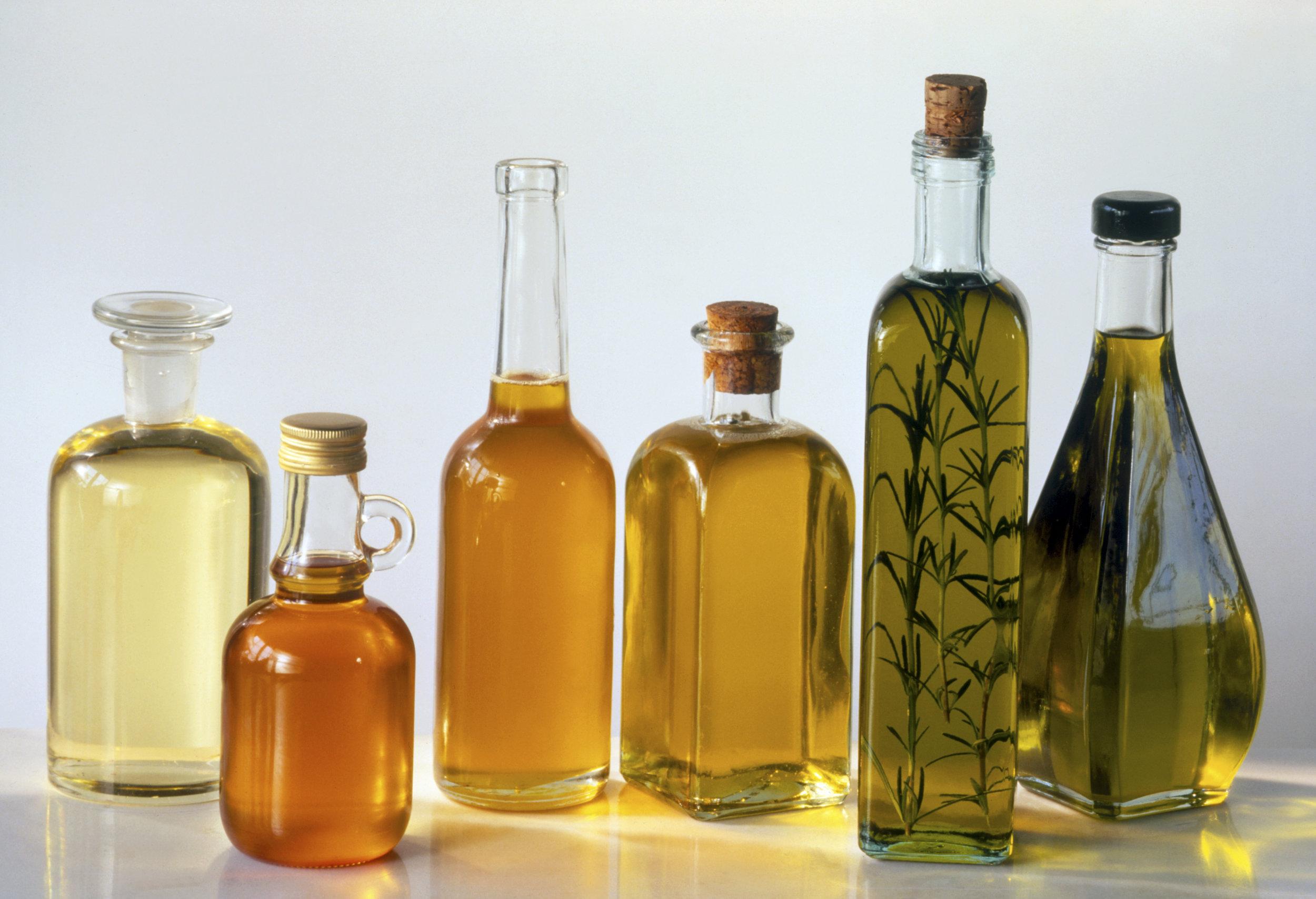 olive oil avocado oil walnut oil
