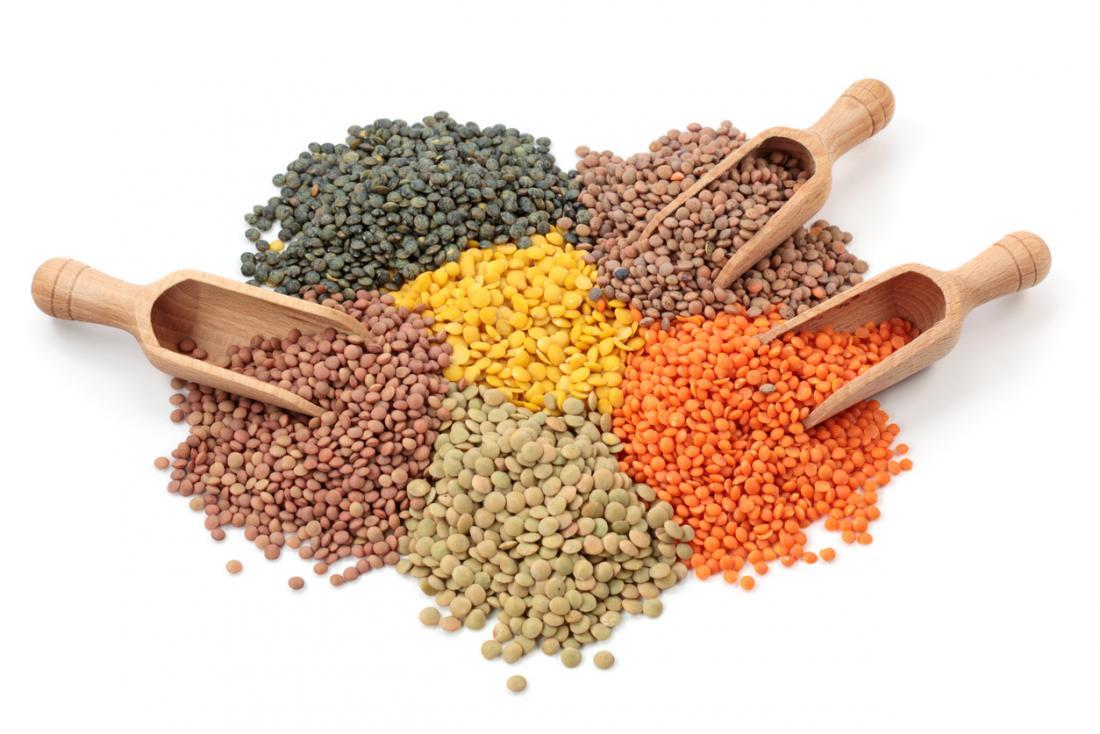 healthy lentils beans