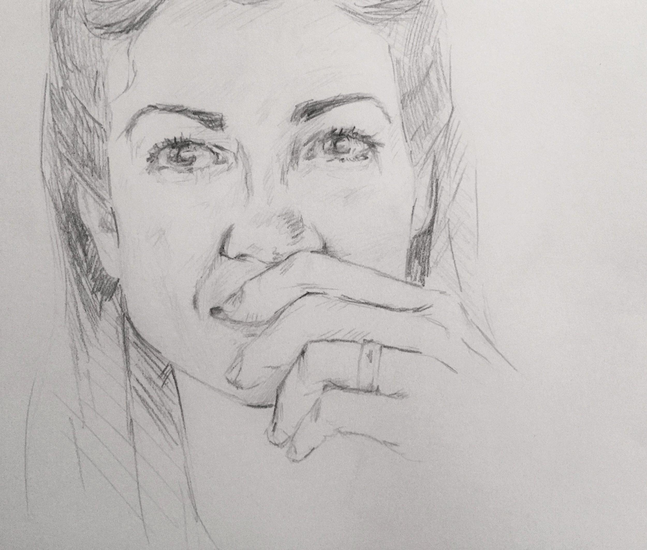 #sktchy30 ; Self portrait
