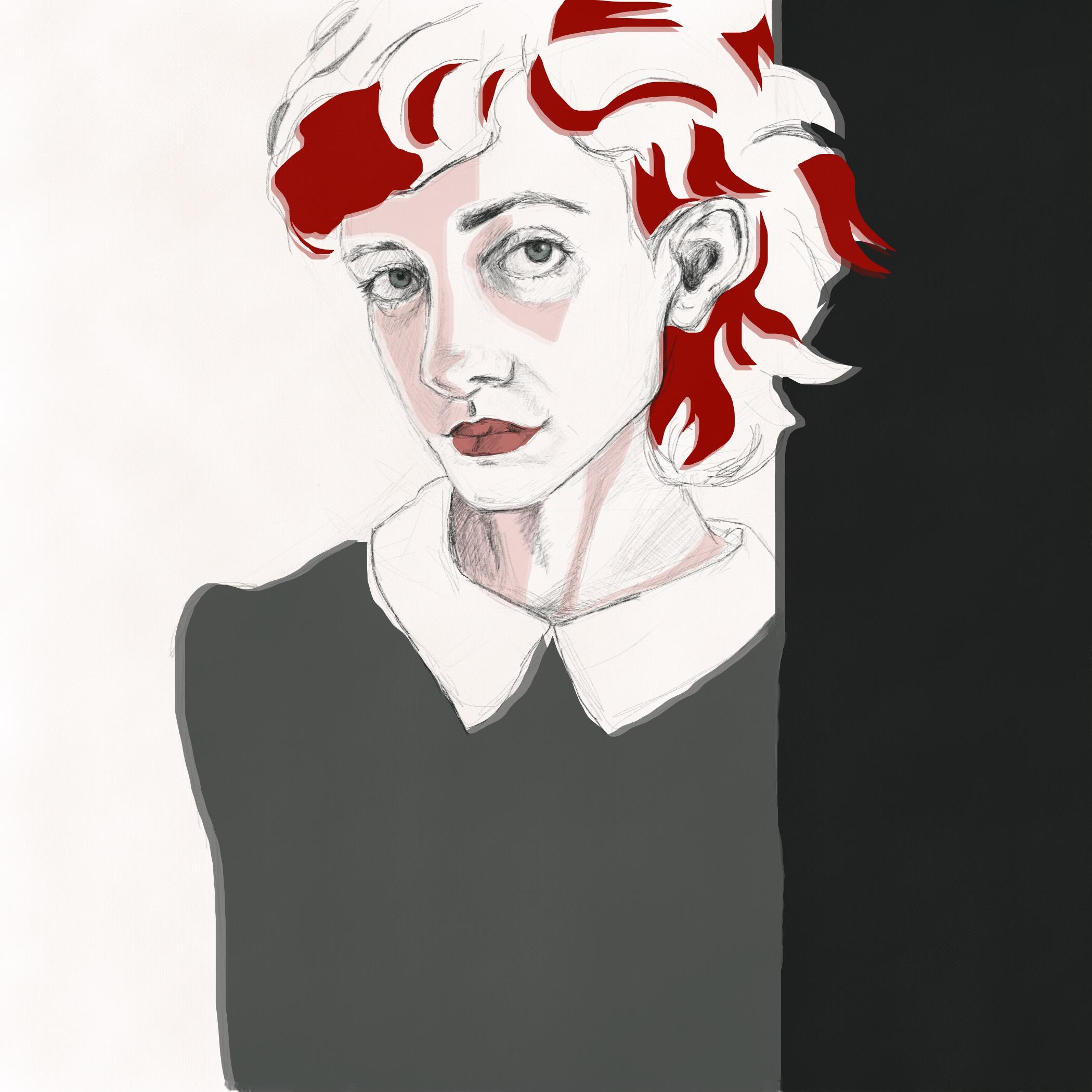 dartily portrait drawing