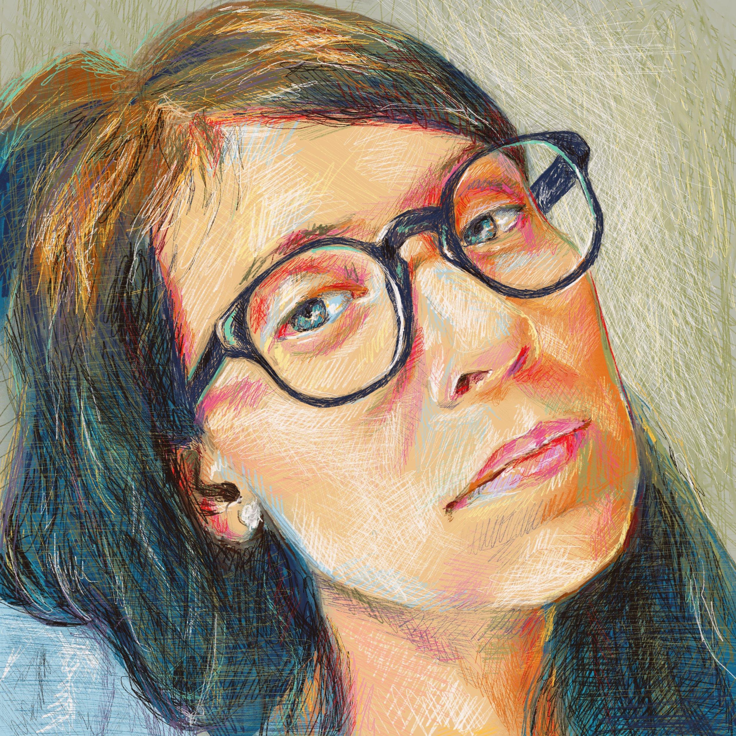 portrait drawing dartily.com