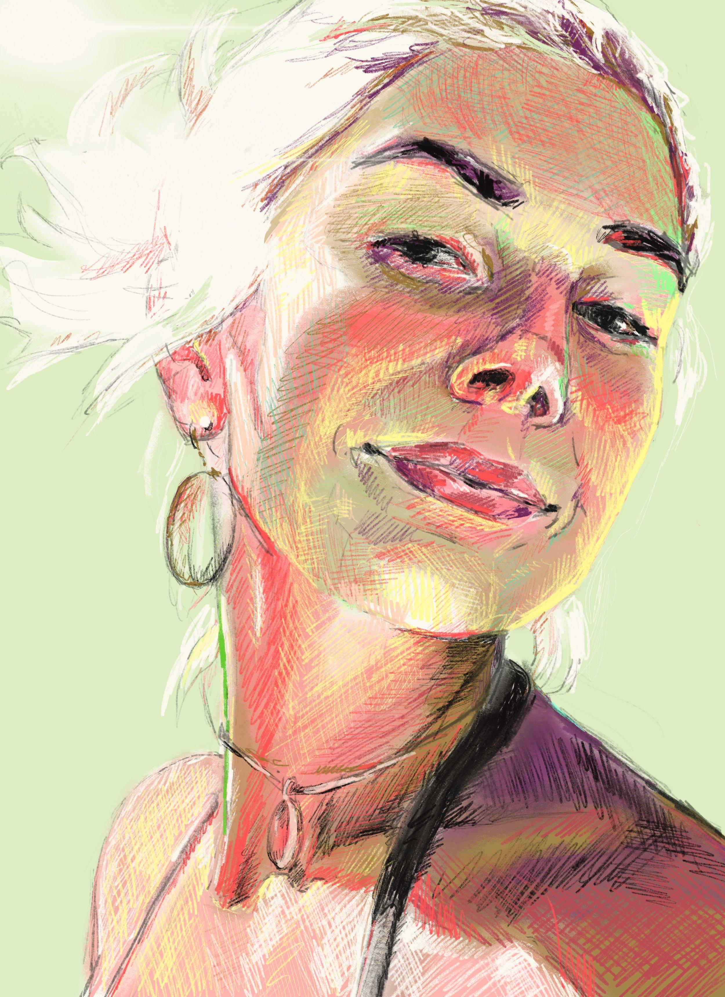 portrait artist faith dartily