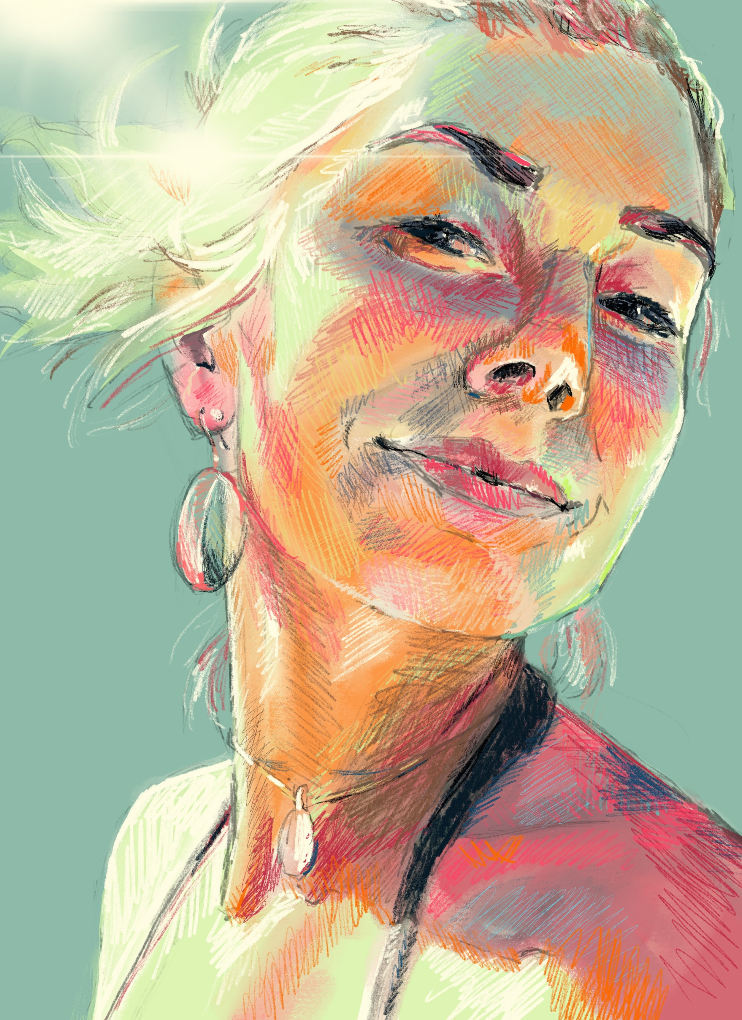 dartily faith artist portrait artist