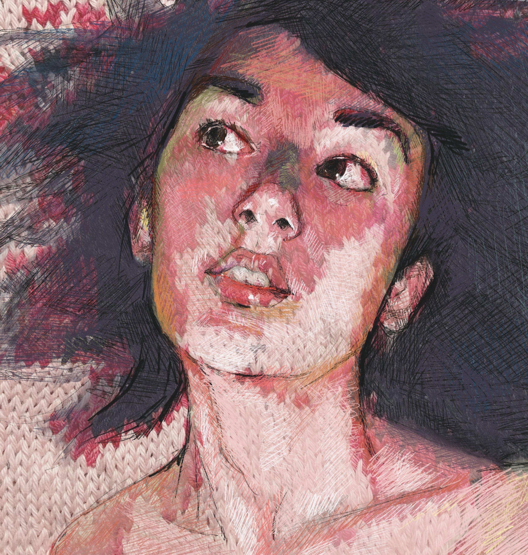 Knit Painting: Ichen