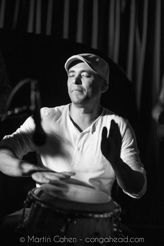 Mauricio Herrera drummer and percussionist Cuba and NY