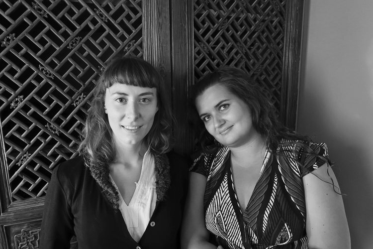 LILY PARROTT & LAURA STAHNKE of MIGRATION COLLECTIVE