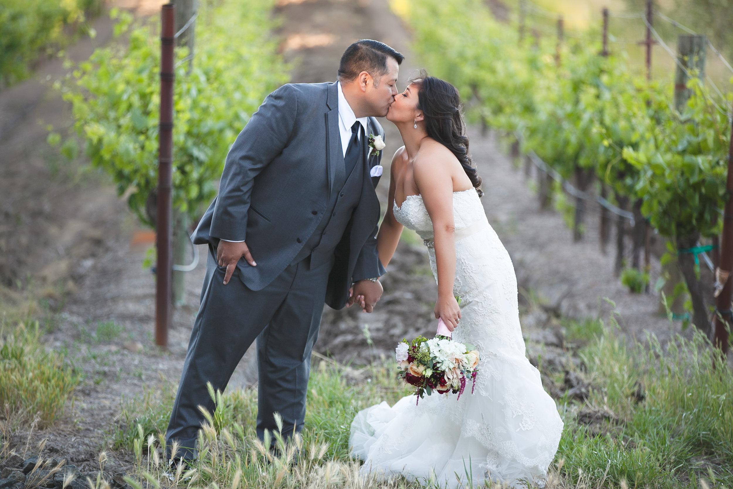Karri + Ricardo | Gloria Ferrer Wine Caves | Sonoma, CA (as seen in Sonoma Magazine)