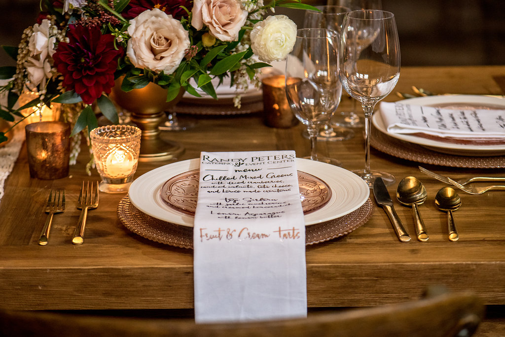 Dramatic Glamour Styled Shoot | Randy Peters Catering and Event Center
