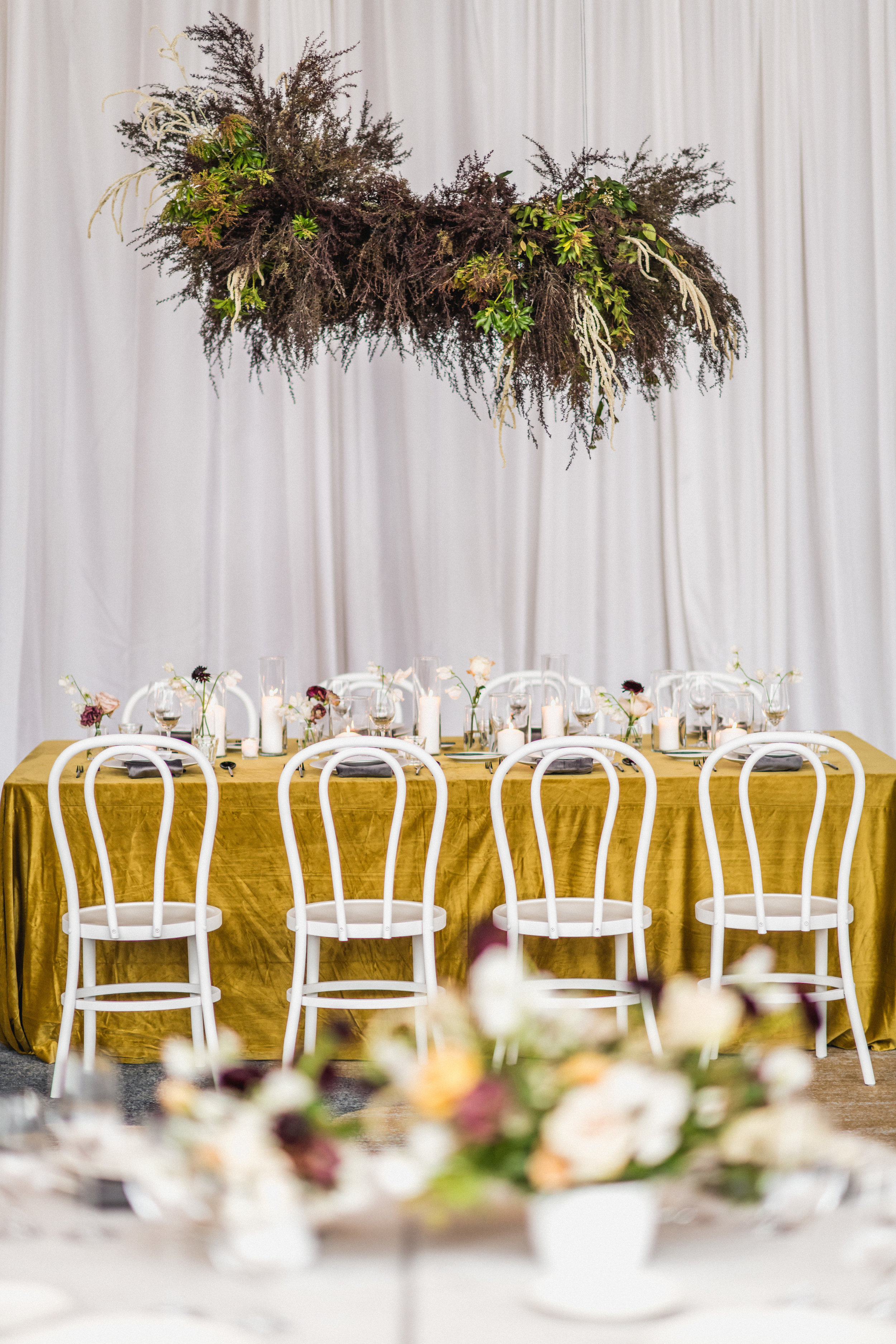 modern hanging florals