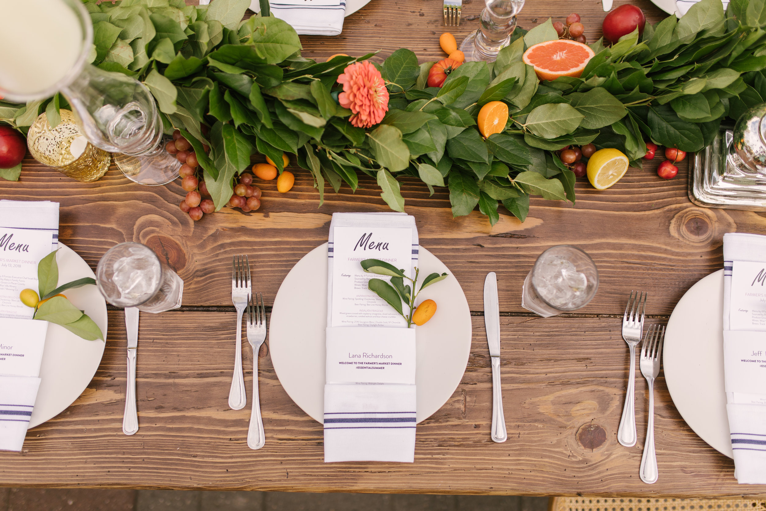 Essential Summer Dinner | Westfield Galleria at Roseville