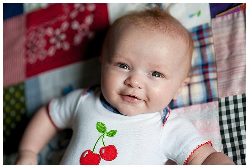 Miss Bridget 4 months old already!
