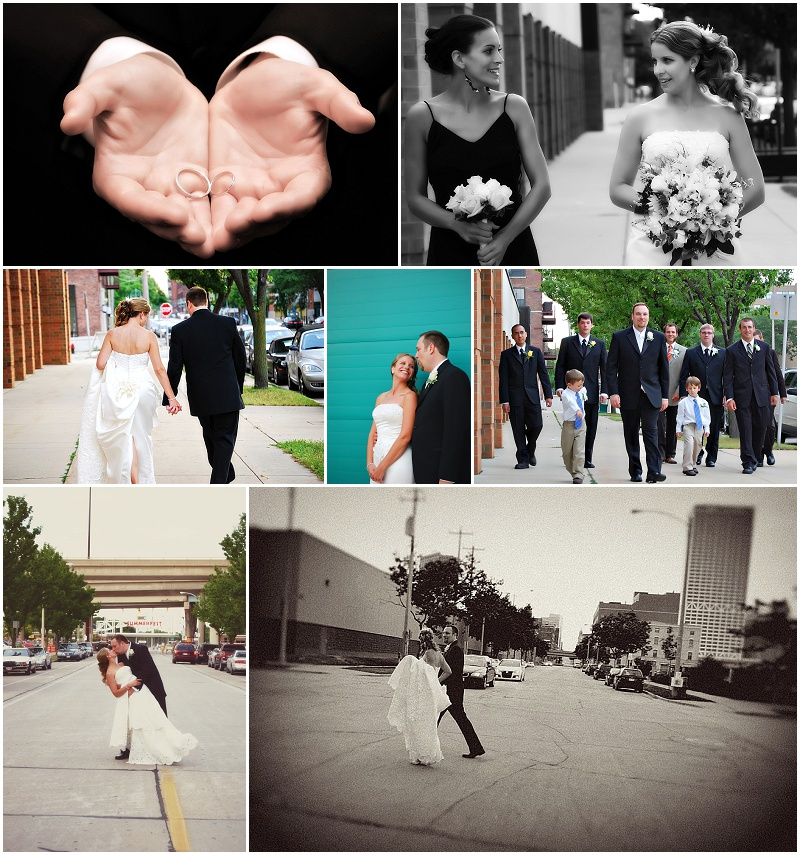 My First Wedding EVER. Really, I look back and see the potential. I also see every error I made! But I cared DEEPLY about doing a good job for these folks. I knew it was a make it or break it situation. And in the end, I had happy clients....and so it began.....