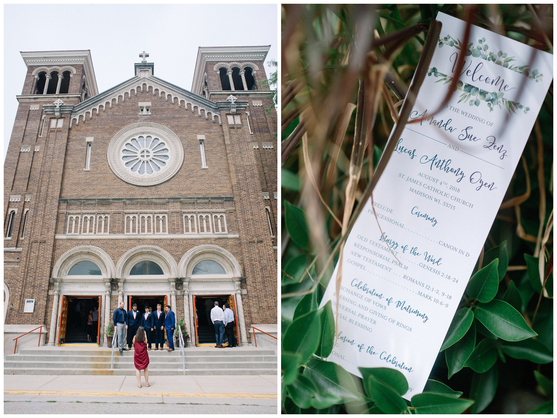 Amanda + Luke ~ Madison Wisconsin Wedding Photographer