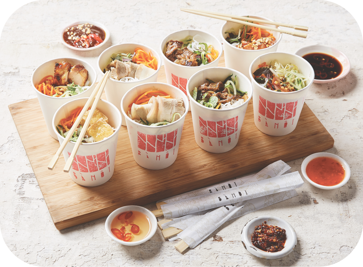 4 - Vermicelli Cups - 12 x Assorted Vermicelli Cups(caters for 4-6 people)$95Additional items: $7.5