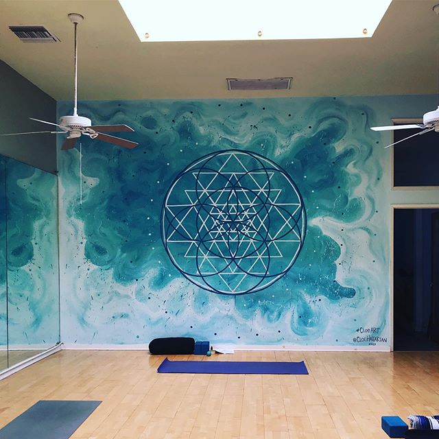 Honored to have had the chance to teach my very 1st Pre & Post-Natal yoga class to 7 Mamas and 3 happy & talkative babies. #honored . I accomplished something I have looked forward to for a VERY long time. This allows me to learn, and grow, we get better with practice & opportunities like these. #grateful . Holding space, breath work, visualization, and community, tears welled up upon saying Namaste. . #yoga #yogini #prenatal #postnatal #preandpostnatalyoga #goals #yogateacher #yogainstructor #mamas #babies #breathwork #holdingspace #sacredgeometry #practice #accomplish #focus #community #gratitude #namaste