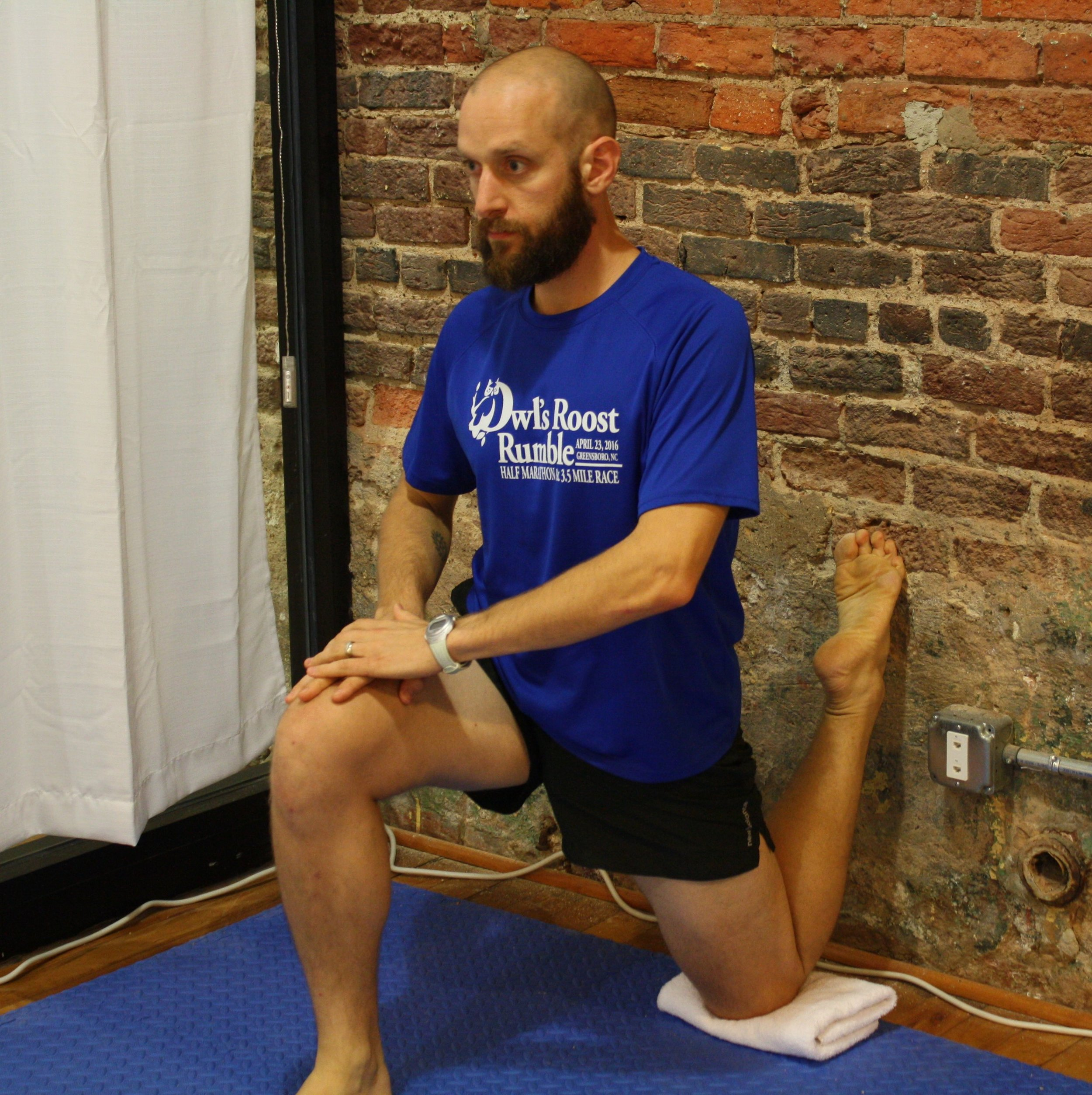 The enlightened quads stretch