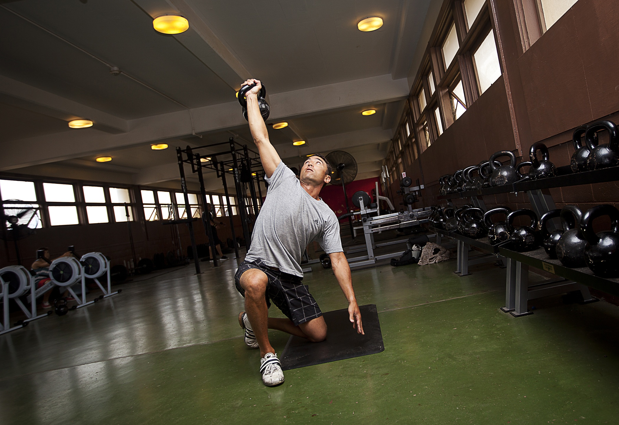 Kettle bell exercises should be perfected prior to adding in heavy loads. In free weights, technique is of extreme importance.