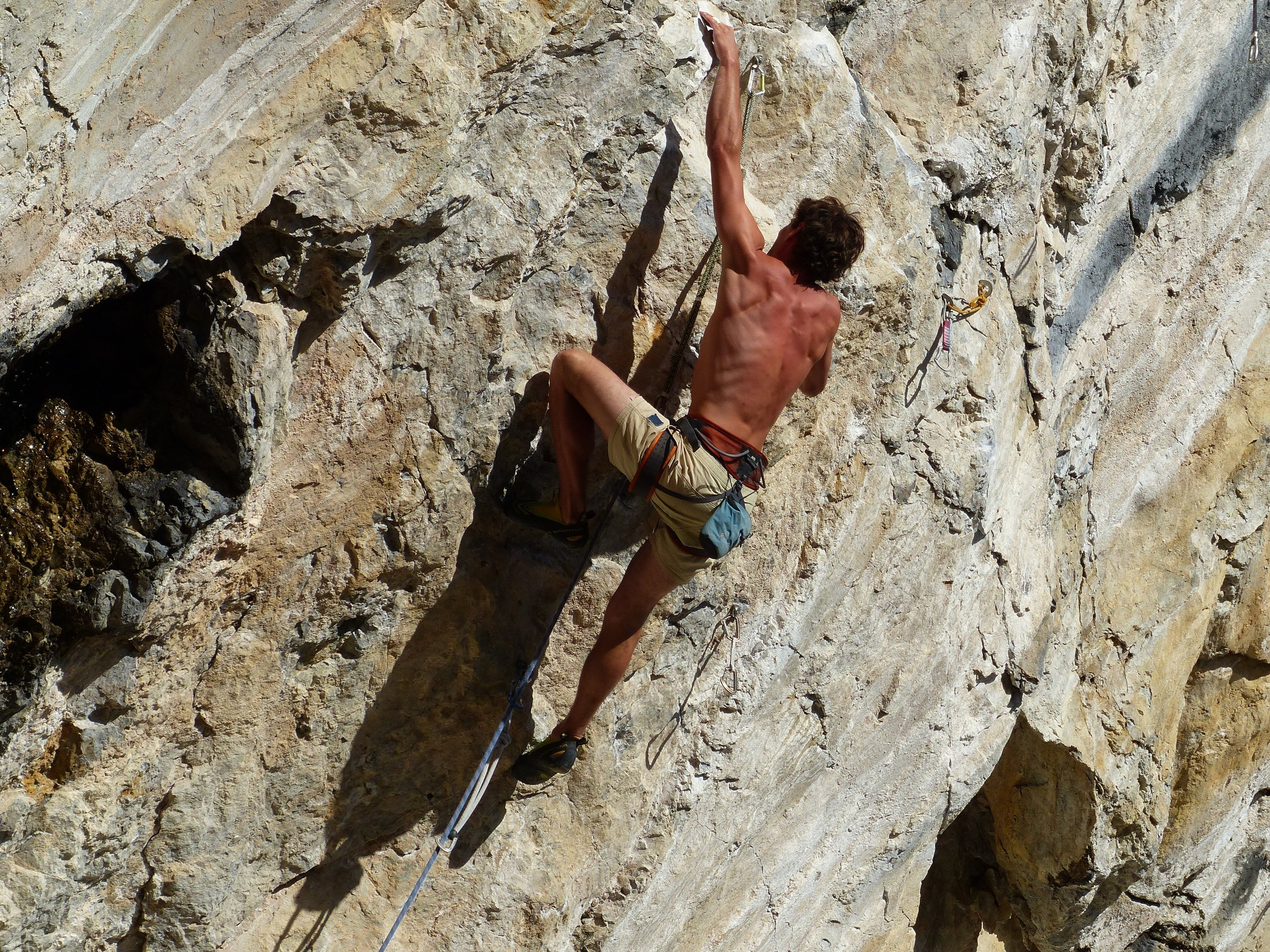 In rock climbing, impressive strength in the arms and upper body is useless without equally developed hands.